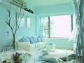 墙面漆:时尚色彩居室其实很简单 (7)