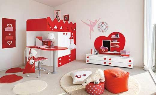 儿童房也可以复式 彩色儿童家具欣赏(组图)